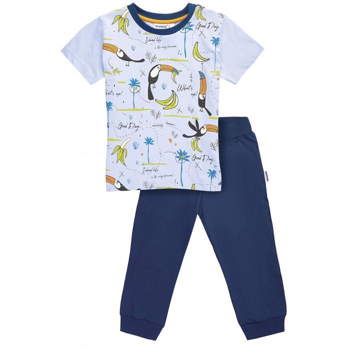 Купить Домашняя одежда, Winkiki Пижама для мальчика (футболка, брюки) WKB01710