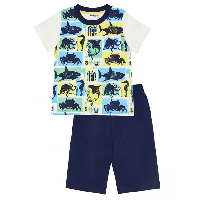 Winkiki Пижама для мальчика (футболка, шорты) WKB91169