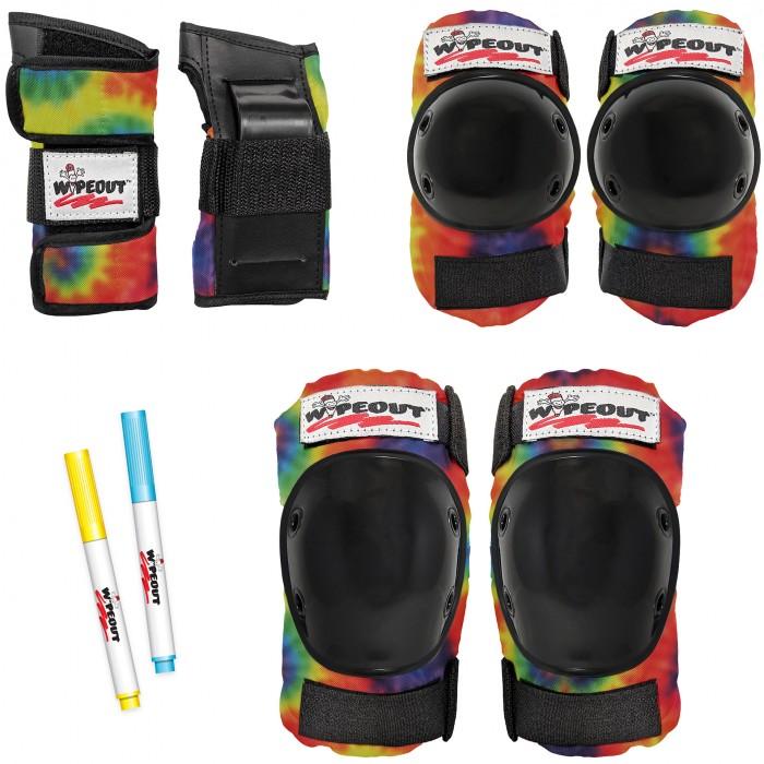 Wipeout Комплект защиты 3 в 1 Tie Dye
