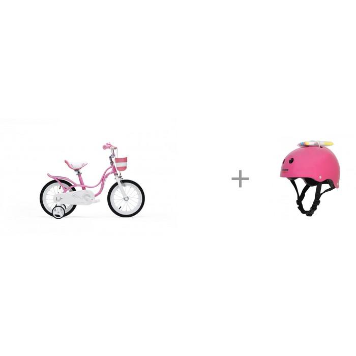 Купить Шлемы и защита, Wipeout Шлем с фломастерами и Royal Baby Детский велосипед Little Swan 16