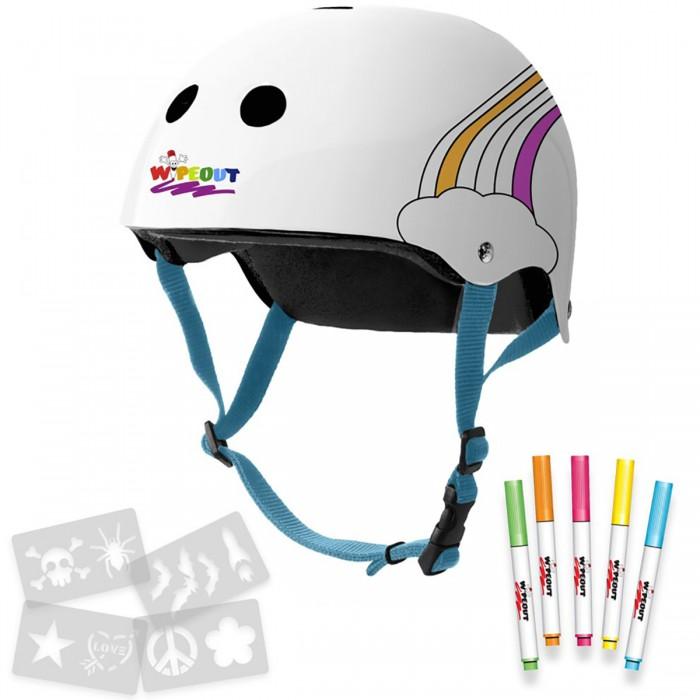 Wipeout Шлем с фломастерами Rainbow