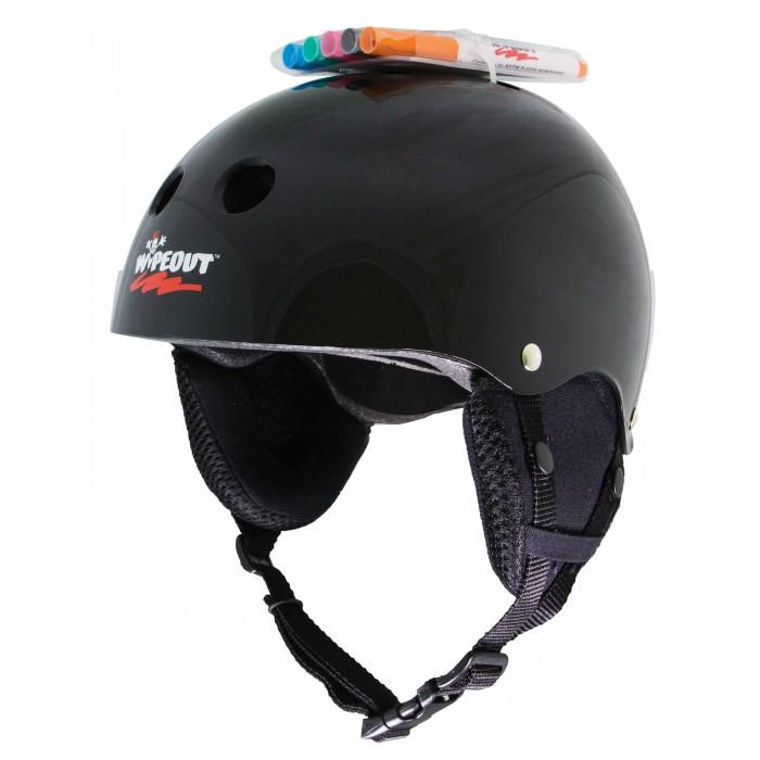Купить Шлемы и защита, Wipeout Зимний шлем с фломастерами