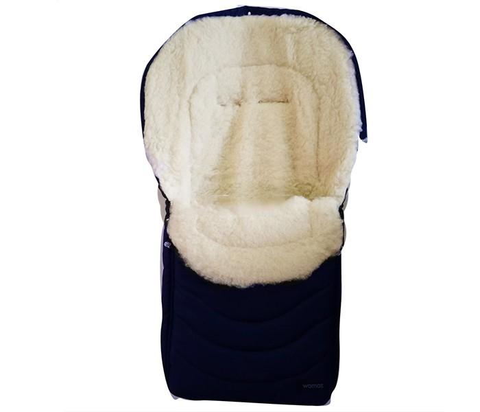 """Зимний конверт Womar Black FrostBlack FrostWomar Зимний конверт в коляску Black Frost №27  Особенности:  Наполнитель внутренней части- полиэфирное волокно типа OVATA, прошедшее сертификацию. Утеплитель конверта - овечья шерсть высшего класса с высоким ворсом на тканой основе. Овечья шерсть, используемая в спальных зимних конвертах фирмы WOMAR, имеет сертификат WOOLMARK EXCELLENCE IN WOOL"""" выданный The Woolmark Company и соответствует всем стандартам качества для шерстяных товаров. Овечья шерсть является хорошим термоизолятором, она не допустит перегревания или переохлаждения тела малыша Конверт Womar гигроскопичен, он впитывает влагу и не отдает её обратно Овечья шерсть гипоаллергенна, поэтому вы можете не бояться, что у ребенка будет какая-либо реакция на конверт Благодаря ланолину в конверт не проникает пыль, а значит, нет среды для пылевых клещей и бактерий 1 молния Полностью раскрытый конверт можно использовать как одеяло или коврик Есть прорези для ремней безопасности.  Размер 90х40 см  Внимание! Оттенок конверта может отличаться от представленного на фото!<br>"""