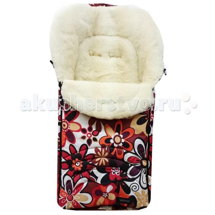 Зимние конверты Womar Excluzive конверт детский womar womar конверт в коляску зимний excluzive цветки розовые
