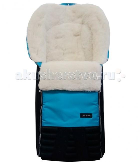 """Зимний конверт Womar SnowmanSnowmanWomar Зимний конверт в коляску Snowman №16  Внешняя ткань конверта - полиамид, это непромокаемый материал высокого качества, из которого шьются детские коляски.  Наполнитель внутренней части- полиэфирное волокно типа OVATA, прошедшее сертификацию. Утеплитель конверта - овечья шерсть высшего класса с высоким ворсом на тканой основе.  Особенности:  Овечья шерсть, используемая в спальных зимних конвертах фирмы WOMAR, имеет сертификат WOOLMARK EXCELLENCE IN WOOL"""" выданный The Woolmark Company и соответствует всем стандартам качества для шерстяных товаров. Овечья шерсть является хорошим термоизолятором, она не допустит перегревания или переохлаждения тела малыша Конверт Womar гигроскопичен, он впитывает влагу и не отдает её обратно Овечья шерсть гипоаллергенна, поэтому вы можете не бояться, что у ребенка будет какая-либо реакция на конверт Благодаря ланолину в конверт не проникает пыль, а значит, нет среды для пылевых клещей и бактерий 2 молнии в районе ножек малыша Полностью раскрытый конверт можно использовать как одеяло или коврик Есть прорези для ремней безопасности. Конверт может использоваться с рождения и минимум до трех лет. Капюшон стягивается с помощью шнурка.  Размеры: 95х50 см.  Внимание! Оттенок конверта и рисунок могут отличаться от представленного на фото!<br>"""