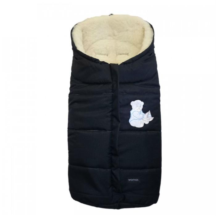 Зимний конверт Womar WintryWintryТеплый конверт Wintry в коляску WOMAR. Его особенности гарантируют ребенку спокойный и здоровый сон. Спальный конверт WOMAR подходит к большинству доступных колясок на рынке. Он имеют практичный замок, позволяющий легко и быстро уложить новорожденного в коляску, так же у конверта утягивается капюшон.  Конверт Womar также можно трансформировать в дорожку, по которой вы будете учить малыша ползать. Спальный WOMAR конверт имеет 5-ти точечные отверстия для ремней безопасности.  Конверт womar используется 3 зимы: 1 -я зима- сначала укорачивается застёжками до роста вашего новорожденного малыша, с помощью специальных шнурков стягивается капюшон, закрывая голову, затем, когда ребенок начнёт прибавлять в росте, вы сможете постепенно удлинять этот конверт. 2 -я зима - с помощью адаптирующих элементов пошива Конверт Womar крепится на любую прогулочную коляску для сидячего ребёнка. Таким образом вы сможете утеплить даже летнюю коляску-трость! 3-я зима - Конверт Womar можно разделить на 2 части, расстегнув обе молнии. Нижняя часть крепится при помощи адаптирующих элементов пошива в санки как меховой утепляющий матрас.  Состав:  Покрытие: внешняя ткань - мягкий флис, наполнение - полиэфир Размер(длина)х(ширина): 900х400 мм  Внимание! Оттенок конверта и рисунок могут отличаться от представленного на фото!<br>