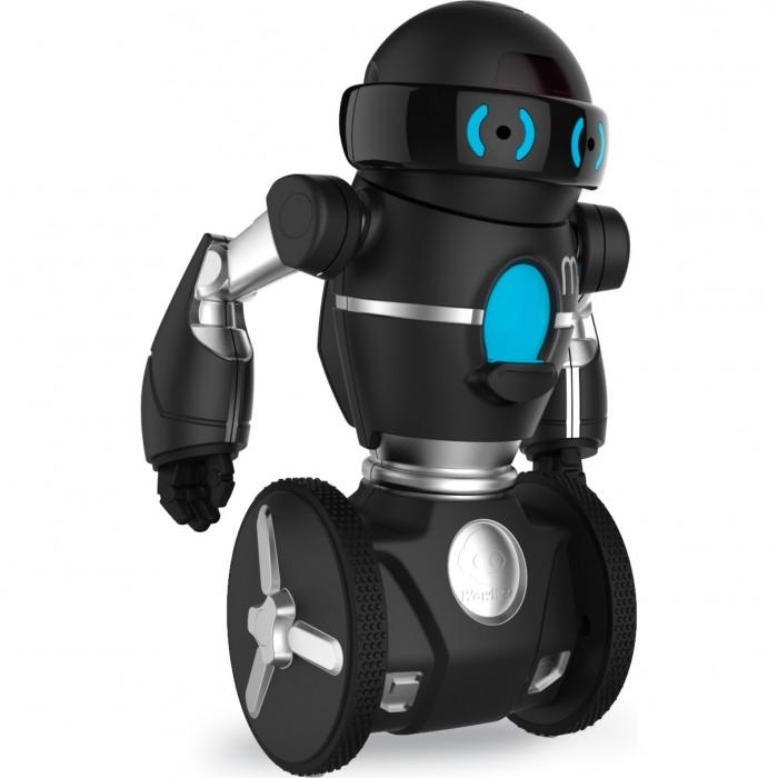 Интерактивная игрушка Wowwee Робот MIPРобот MIPИнтерактивная игрушка Wowwee Робот MIP –полноценный многофункциональный автономный робот, который самостоятельно балансирует на двух колёсах. MiP работает совместно со смартфонами на iOs и Android, специально созданные приложения не оставит вас равнодушными.   Балансирующий робот MiP MiP очень эффектно передвигается. Благодаря встроенному гироскопу он балансирует на двух колёсах. Похожий принцип используются в аппаратах сегвэй.  Технология Gesturesense Современные технологии пронизывают MiP. Робот способен реагировать на движения            руки или других объектов. Легкая навигация вам очень понравиться.  Выдающаяся личность Ваш новый друг всегда любит повеселиться, и он обязательно позовёт вас с собой. Похвалите робота, и он станет вашим лучшим другом. Но если его опрокинуть робот-приятель может расстроиться.  Бесконечное веселье В комплекте с роботом вы получаете целую массу игровых приложений. Тут                           разработчики постарались на славу. Вы сможете включить такие программы, как вождение, танцы, балансировка с грузом, бои и многое другое.  Режимы робота MiP: MiP – Используйте движения ваши рук для управления движением робота. МiP будет ехать за вами TRACKING – MiP будет отслеживать ваши руки или ноги или другой объект по вашему выбору. DANCE – Ваш робот оживит любую вечеринку. Крутаните его колесо на светло-голубую отметку и он превратиться в настоящую звезду вечера. ROAM – В этом режиме робот исследует окружающую среду. Обнаруживает объекты на пути, объезжает их продолжает свое дело. TRICKS – Режим трюков. Робот понимает до 50 команд. Их можно сочетать и программировать. Проведите рукой по разным направление, похлопайте два раза и робот повторит это. Всё что вы сделаете, MiP может повторить лучше. CAGE – Побег. Робот находится в виртуальной клетке. Предотврати его побег, блокируя все возможные выходы. STACK – Погрузите предметы на поднос робота за определенное время. Удивитесь сколько может нести