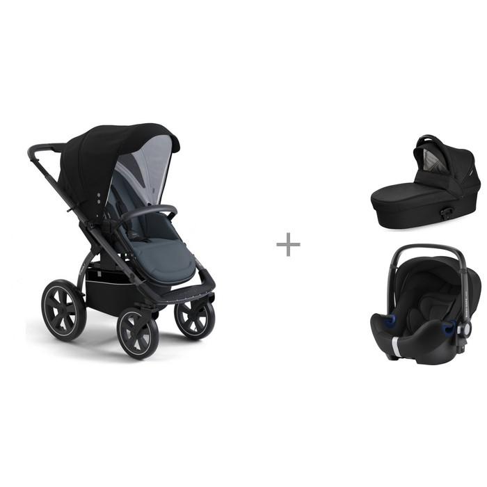 Прогулочные коляски X-Lander X-Move, люлька X-Pram light и автокресло Britax Roemer Baby-Safe2 i-size цена 2017
