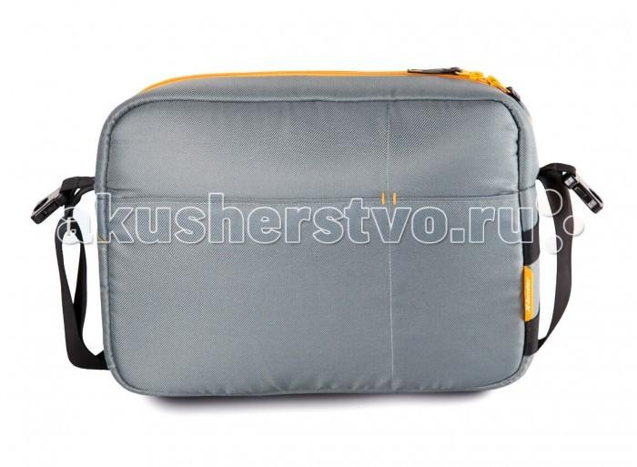 X-Lander Сумка для коляски X-bagСумка для коляски X-bagБольшая и вместительная сумка X-Lander X-bag  Много продуманных больших и маленьких карманов для лучшей организации хранения. Легко крепится на ручке коляски при помощи специальных фиксаторов.  В комплекте: коврик для пеленания термический карман для бутылки мини-сумочка.<br>