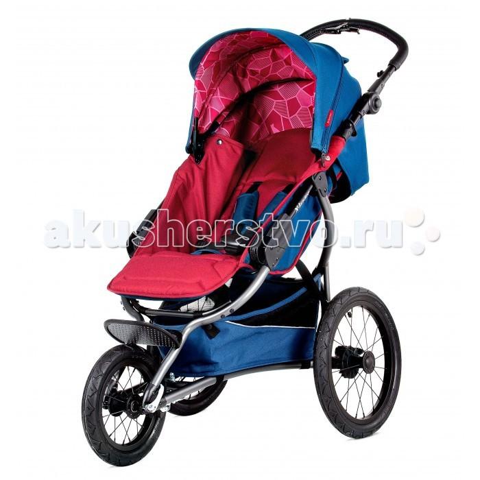 Прогулочная коляска X-Lander X-RunX-RunПрогулочная коляска X-Lander X-Run. Новая модель  создана специально для молодых родителей, ведущих активный образ жизни. Стильная и функциональная она проста в использовании и управлении.  Смелые дизайнерские решения позволили воплотить в реальность все, о чем может мечтать молодая мамочка на прогулке – легкая рама, маневренные колеса, мягкий ход и масса необходимых приятных мелочей. Большой капюшон хорошо защищает от дождя, ветра и солнца. В жаркий день можно отстегнуть заднюю часть для лучшей вентиляции. Люлька может отстегиваться, и ее очень удобно использовать в качестве переноски.  Коляска X-lander X-Run оснащена специальными устойчивыми колесами. Улучшенное сцепление с поверхностью обеспечивает слегка наклоненное расположение колес. Это дает возможность легко и безопасно управлять коляской во время быстрого движения. Регулируемая по высоте ручка оснащена специальным звоночком, который предупредит о вашем движении зазевавшихся пешеходов. Для перемещение в темное время суток на коляске имеются яркие светоотражатели. X-lander X-Run – это настоящий «спорт-кар» в мире детских колясок! Но в отличие от автомобиля, конструкция легко складывается в удобную книжку и легко переносится при необходимости.  Особенности: предназначена с 6 месяцов алюминиевая рама большие надувные колёса задние колёса установлены под углом для стабильности при быстрой скорости плавная амортизация регулируется высота ручки ручной тормоз наклон спинки спортивной части регулируется с помощью ремней сидячая часть ставится только в сторону движения регулируемая подставка для ног, ребёнок может свободно разместить ножки в любом положении 5-точечные ремни безопасности съёмный барьер складывается в книжку вместительная корзина на раму можно устанавливать люльку X-Lander с помощью специальных адаптеров возможность устанавливать на раму автокресла (0-13 кг).<br>