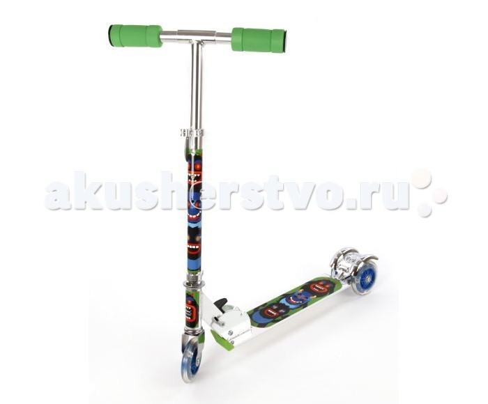 Трехколесные самокаты X-Match Cheerful 100 мм PVC, Трехколесные самокаты - артикул:521111