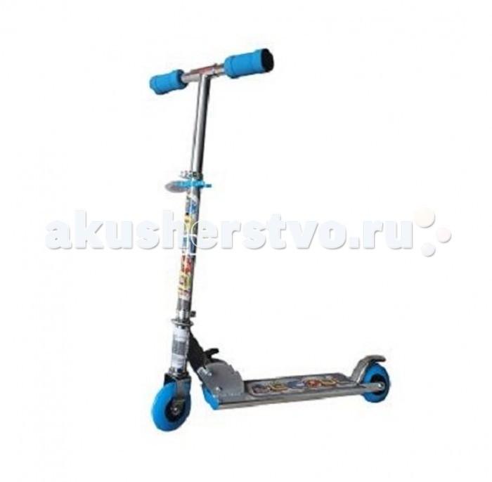 Двухколесные самокаты X-Match Be Сool 100 мм PVC самокат трехколёсный x match скутер голубой 125 мм pvc светящ 100% легкосплавн 64459