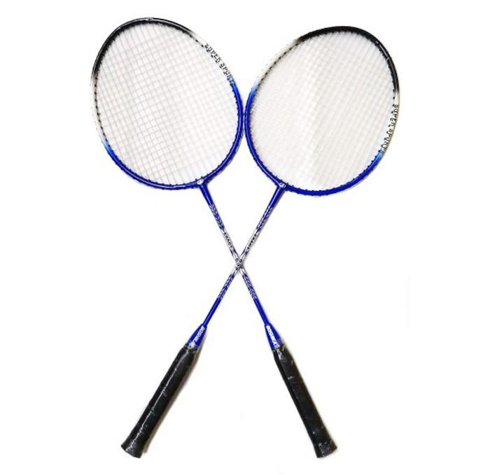 Спортивный инвентарь X-Match Набор ракеток для бадминтона с чехлом на молнии