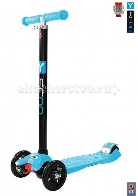 Трехколесные самокаты Y-Scoo 20 Maxi Simple тренировочные колеса 16 20