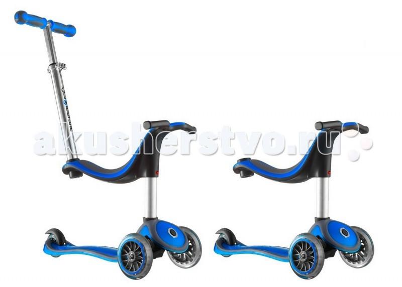 Детский транспорт , Трехколесные самокаты Y-Scoo Globber My free Seat 4 in 1 арт: 47517 -  Трехколесные самокаты