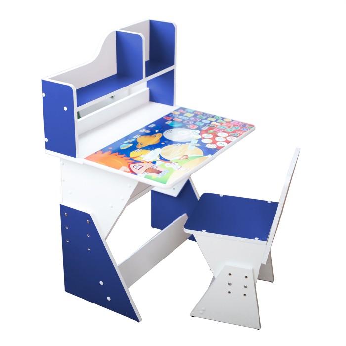 Купить Детские столы и стулья, Я сам Детская растущая парта и стул Космос