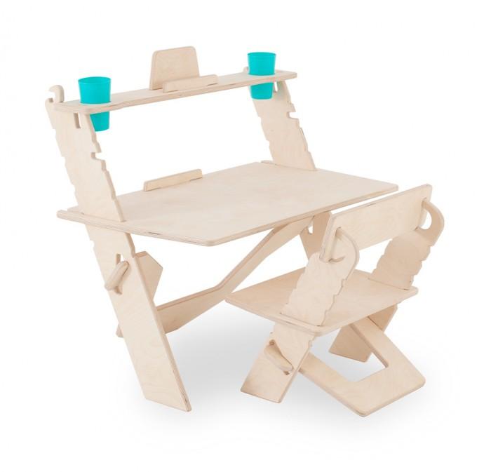 Картинка для Я сам Комплект детской растущей мебели Конструктор 3 в 1 ЭКО