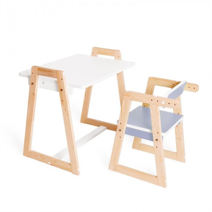 Я сам Комплект детской растущей мебели Краски (парта и стул)