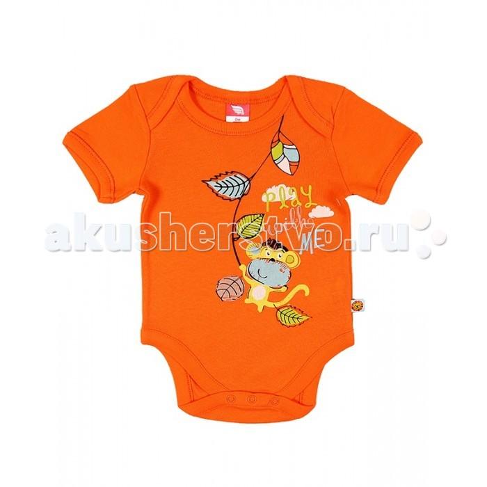 Боди и песочники Cherubino Боди ясельное для мальчика CAN 4145 (143) cherubino свитер для мальчика