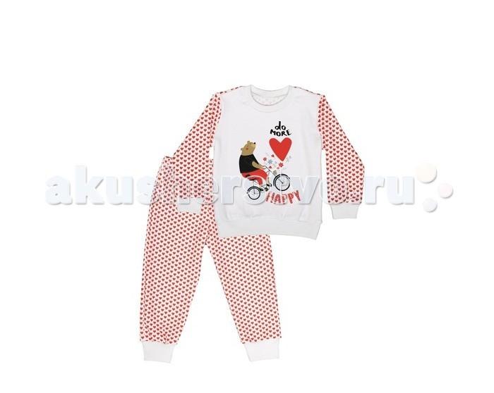 Пижамы и ночные сорочки ЯБольшой Пижама для девочки 77-075-01 пижамы и ночные сорочки nannette пижама для девочки 26 1781