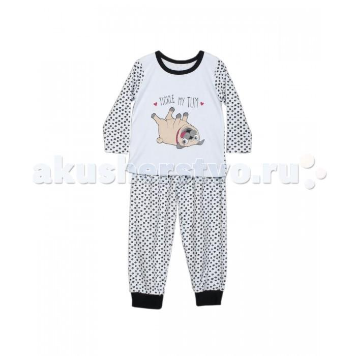 Пижамы и ночные сорочки ЯБольшой Пижама Мопсик математика для малышей я считаю до 100