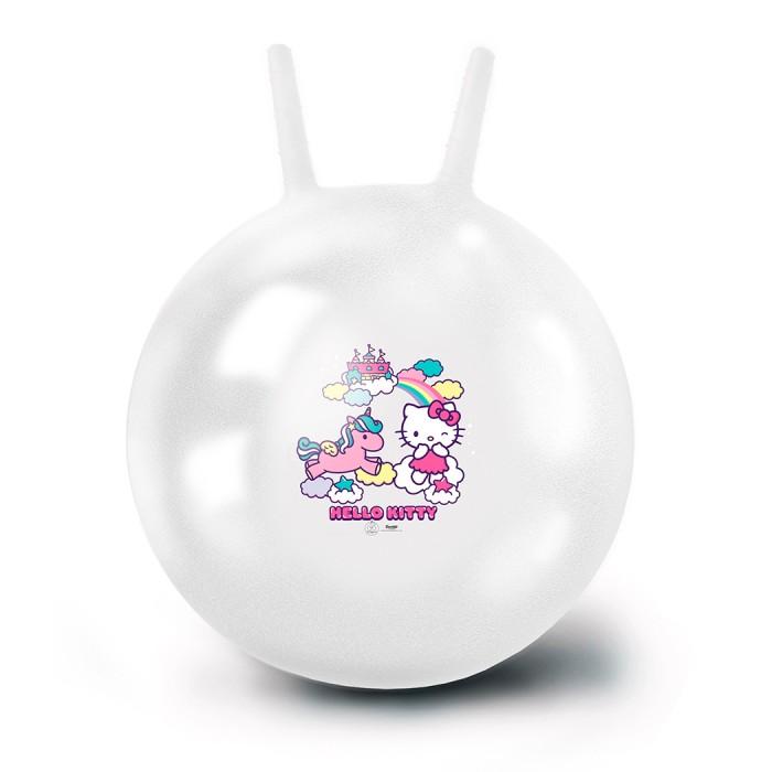 Фото - Мячики и прыгуны ЯиГрушка Мяч-попрыгун Hello Kitty 50 см мячики и прыгуны яигрушка мяч микки 10 см