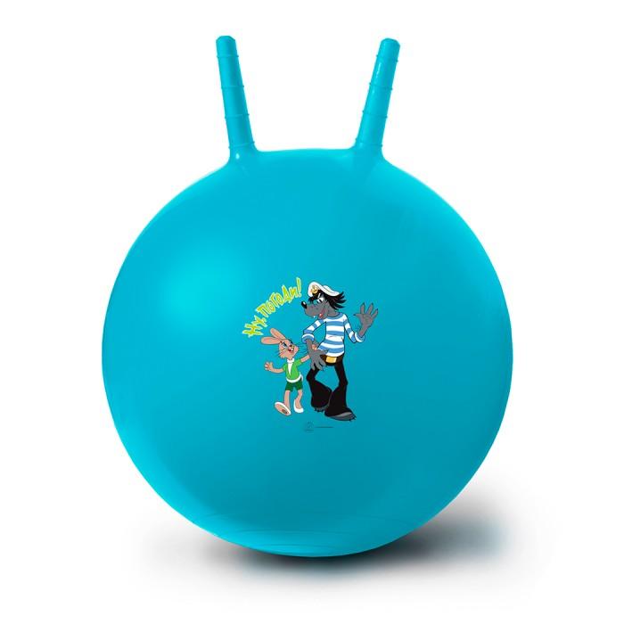 Фото - Мячики и прыгуны ЯиГрушка Мяч-попрыгун Ну, Погоди! 50 см мячики и прыгуны яигрушка мяч микки 10 см