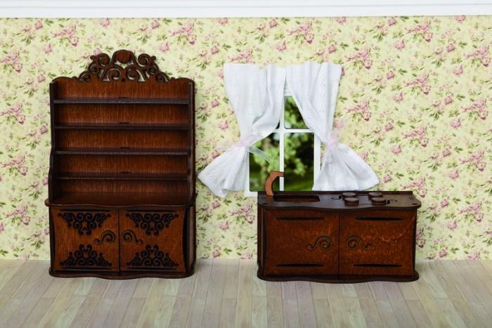 Кукольные домики и мебель ЯиГрушка Кухня напольная плитка atlas concorde russia sinua pav white 45x45