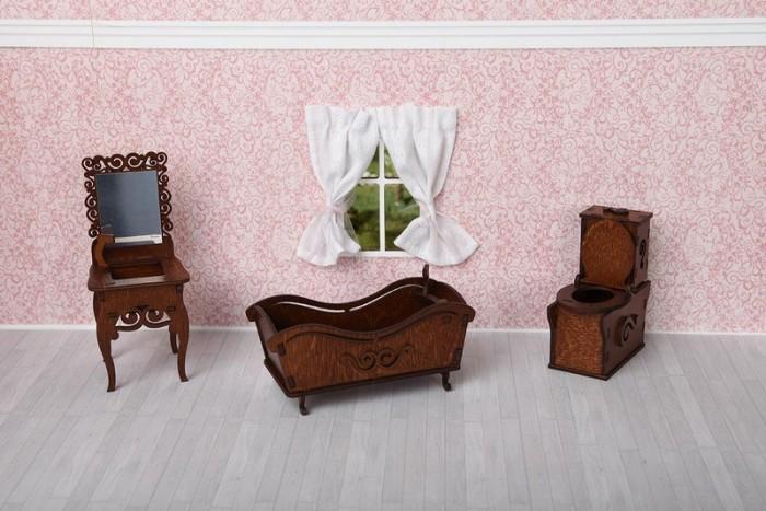 Кукольные домики и мебель ЯиГрушка Ванная комната ванная