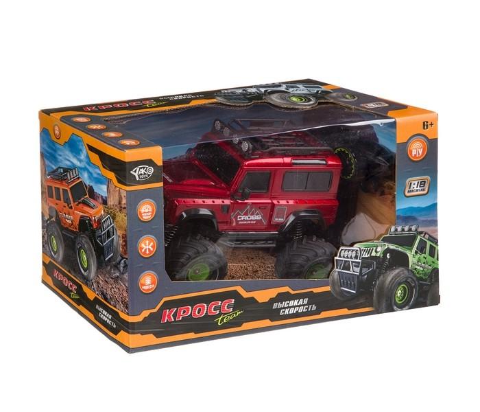 Радиоуправляемые игрушки Yako Радиоуправляемая машина Джип FullFunc М98110 yako yako радиоуправляемая машина городские службы эвакуатор 1 20