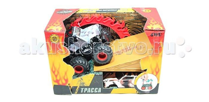 Машины Yako Машинка инерционная Крутой трамплин кукла yako m6579 6