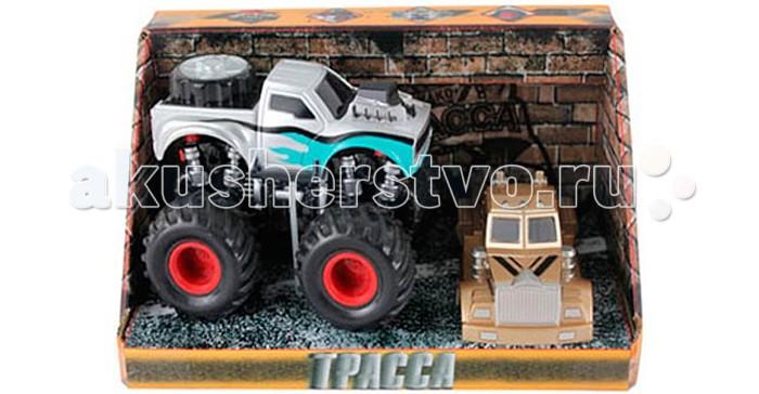 Машины Yako Машинка инерционная Трасса 6502 радиоуправляемые игрушки yako машина на ру