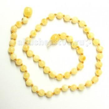 Прорезыватели Yanru Янтарное ожерелье 32 см бусы из янтаря песня солнца
