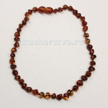 Прорезыватели Yanru Янтарное ожерелье 32 см бусы из янтаря солнечные дни