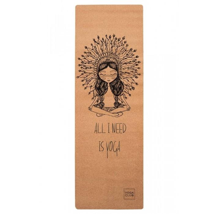 Yoga Club Коврик для йоги Boho Girl YC 183х61х0.3 см
