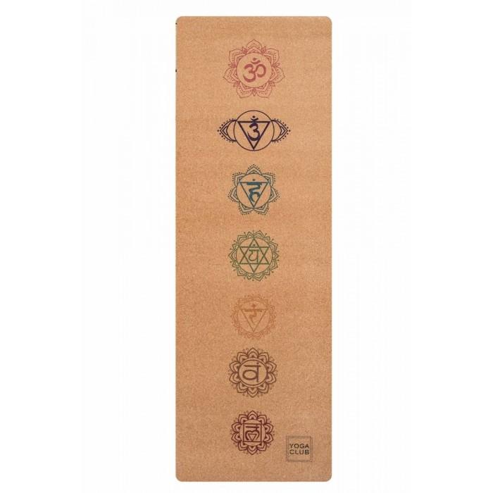 Yoga Club Коврик для йоги Chakras 183х61х0.3 см