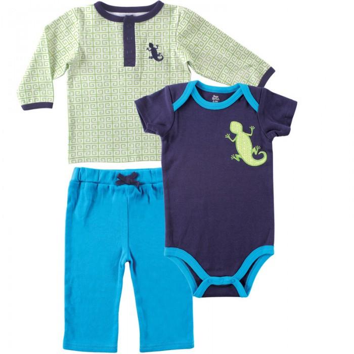 Комплекты детской одежды Yoga Sprout Футболка, боди, штанишки sprout sprout 5030 tnwt