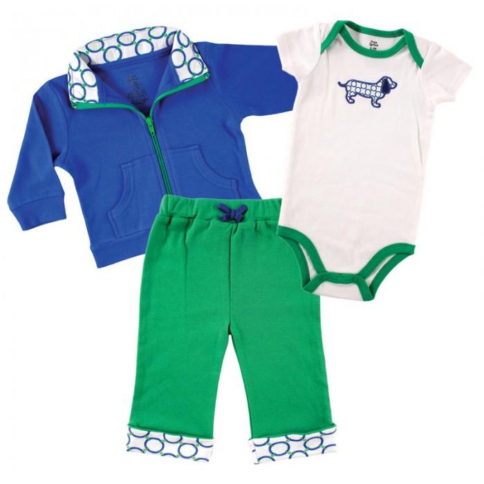 Комплекты детской одежды Yoga Sprout Комплект Жакет, боди, штанишки 90202 yoga sprout комплект