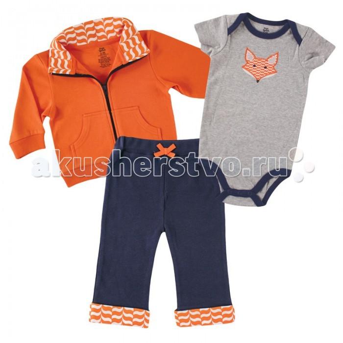Комплекты детской одежды Yoga Sprout Комплект Жакет, боди, штанишки 90128 yoga sprout комплект