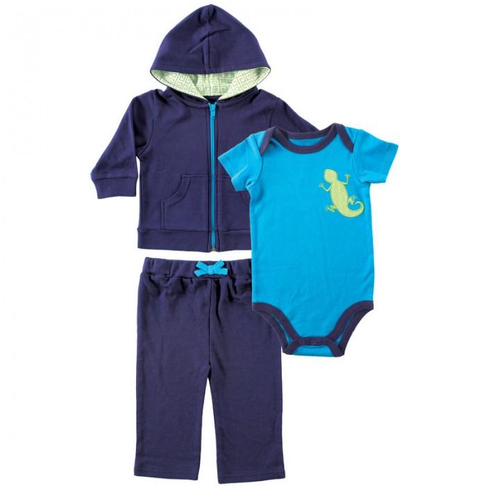 Комплекты детской одежды Yoga Sprout Жакет с капюшоном, боди, штанишки sprout sprout 3004 bngybn