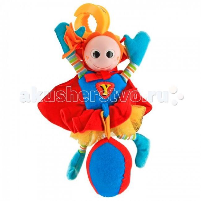 Погремушки Yookidoo Супер человек погремушки yookidoo петушок