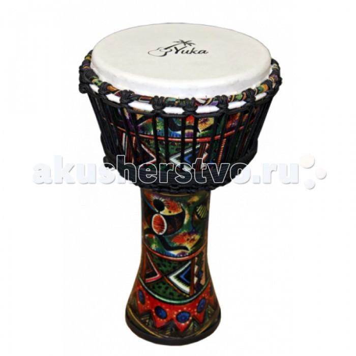 Музыкальные игрушки Yuka Джембе настройка веревочная, Музыкальные игрушки - артикул:512776