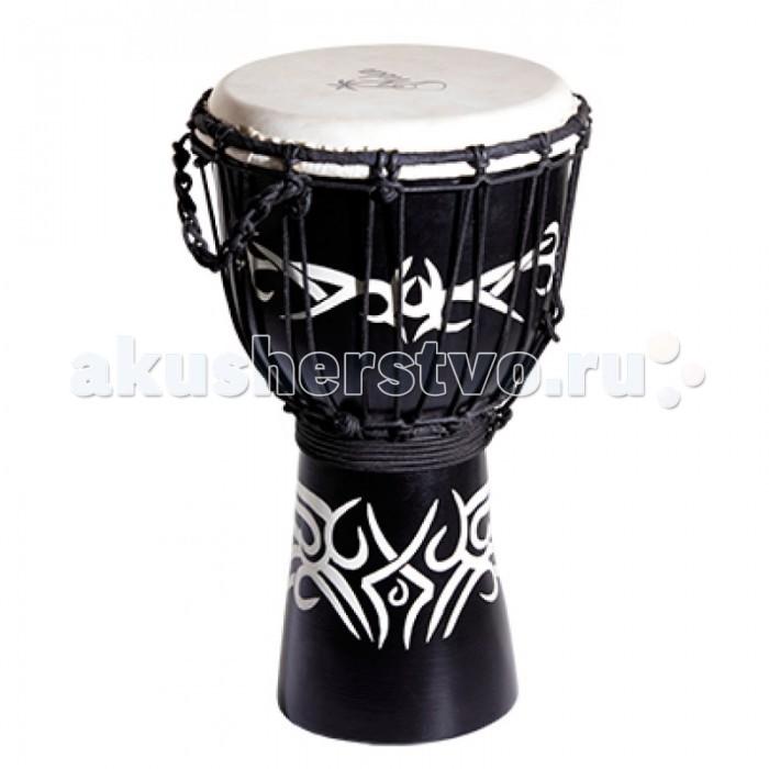 Музыкальный инструмент Yuka Джембе веревочная настройка Tribal Tattoo