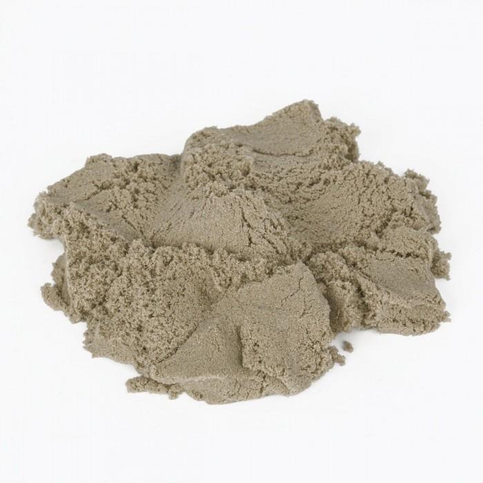 Кинетический песок Юнландия Песок для лепки кинетический 2 формочки и ведерко 500 г