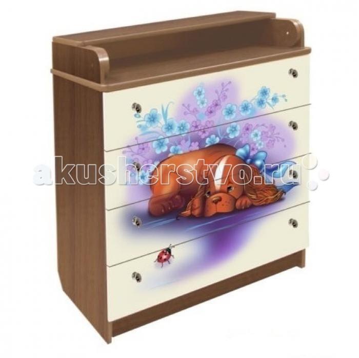 Детская мебель , Комоды Влана Собачка арт: 8613 -  Комоды