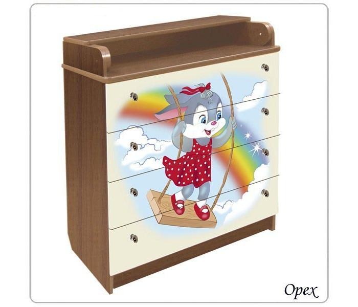 Детская мебель , Комоды Влана Зайка (ДСП) арт: 13741 -  Комоды
