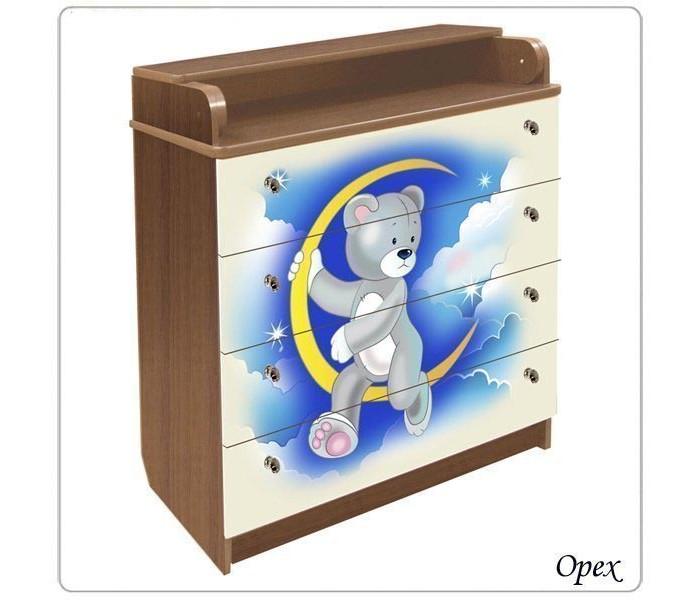 Детская мебель , Комоды Влана Мишка (ДСП) арт: 13743 -  Комоды