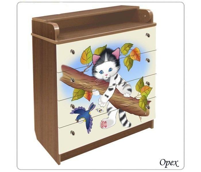 Детская мебель , Комоды Влана Котенок (ДСП) арт: 13744 -  Комоды