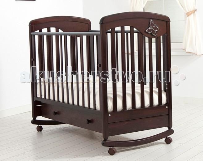 Детские кроватки Гандылян Джулия Бабочка качалка детские кроватки гандылян габриэлла люкс качалка