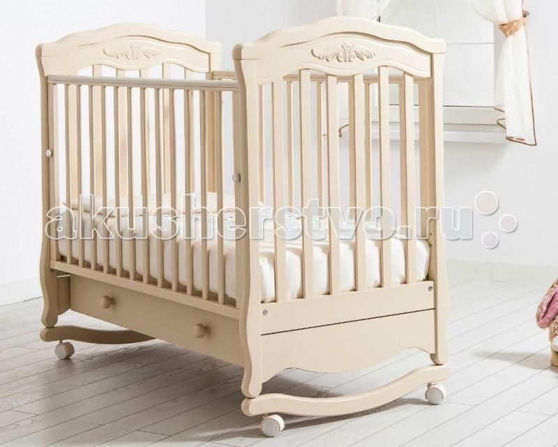 Купить Детские кроватки, Детская кроватка Гандылян Шарлотта качалка